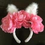 DIY: Bunny Ear Flower Crown