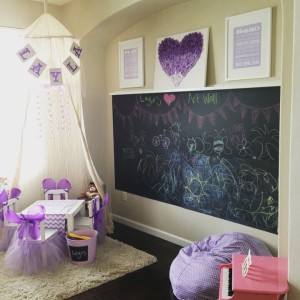 Playroom Fit For a Princess