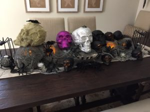 Halloween Decorating: Dollar Store Finds