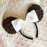 DIY: Princess Leia Minnie Ears