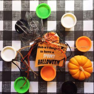 Halloween Play Doh Treats & Printables