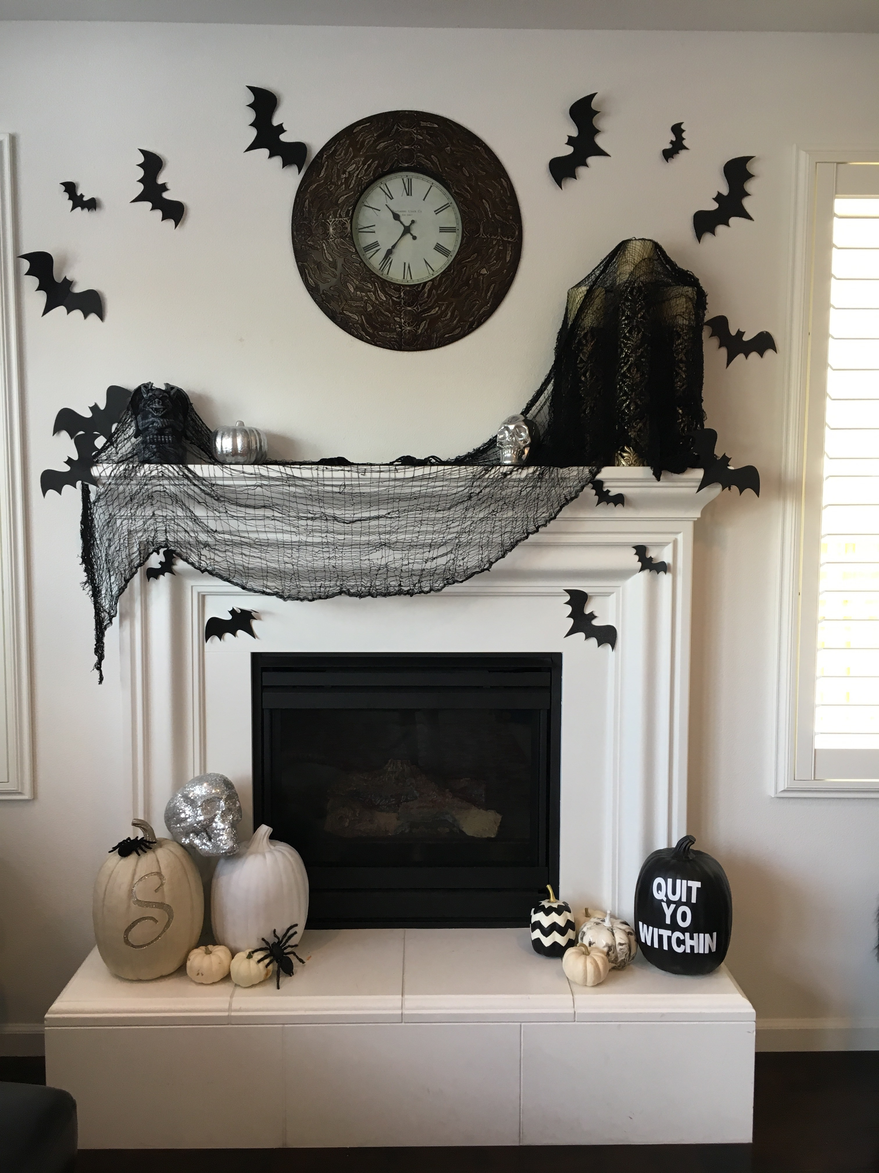 a few weeks ago i shared some of my favorite dollar store halloween decorations you can catch the post here i added some more spooky additions to my