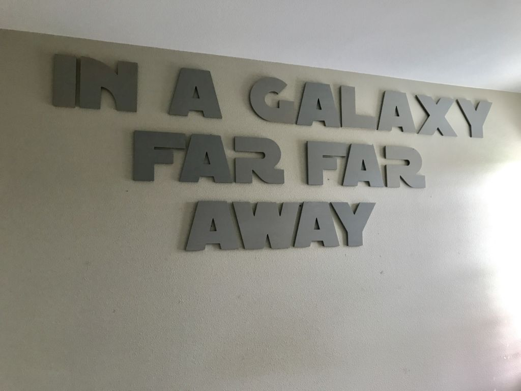Star Wars Inspired Wooden Letters