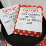 Heart-Shaped Glasses Valentine (Free Printables)