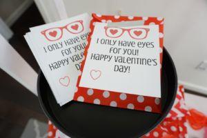 Heart-Shaped Glasses Valentine (Free Printables)
